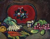 Pyotr KONCHALOVSKY. Tray and Vegetables. 1910