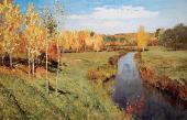 Isaac LEVITAN. Golden Autumn. 1895
