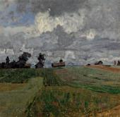 Isaac LEVITAN. Stormy Day. 1897