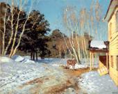 Isaac LEVITAN. March. 1895