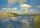 Isaac LEVITAN. Lake. 1899-1900