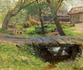 Little Bridge. Savvinskaya Township. 1884