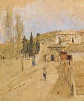 A Street in Yalta. 1886