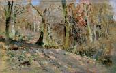 Isaac LEVITAN. Autumn Forest. 1886