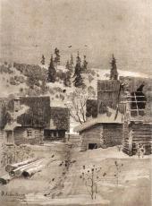 A Village. Rossiya Magazine (Moscow, 1884)