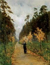 Autumn Day. Sokolniki 1879
