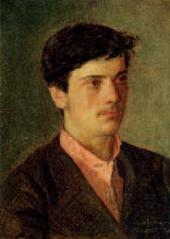 Adolf LEVITAN. Portrait of Isaac Levitan. 1879