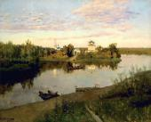 Isaac LEVITAN. Vesper Bell. 1892