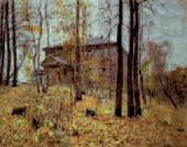 Isaac LEVITAN. Autumn. Estate. (Autumn. Dacha). 1894