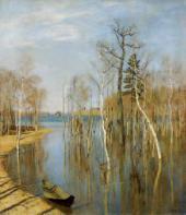 Isaac LEVITAN. Spring Flood. 1897