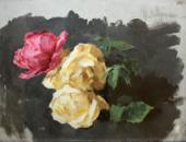 Isaac LEVITAN. Roses. 1894