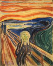 THE SCREAM. 1893
