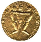 NOBEL PEACE PRIZE MEDAL. 1901-1902