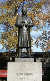 GUSTAV VIGELAND. MONUMENT IN VIGELAND PARK. 1942
