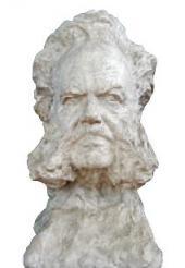 HENRIK IBSEN. PLASTER. 1903