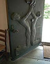 MAIN DOOR OF TOMBA EMMANUELLE