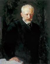 NIKOLAI KUZNETSOV. PORTRAIT OF THE COMPOSER PYOTR TCHAIKOVSKY. 1893