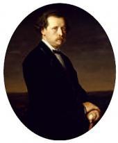 VASILY PEROV. PORTRAIT OF NIKOLAI RUBINSTEIN. 1870