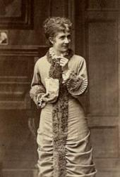 BETTY HENNINGS AS NORA. THE ROYAL THEATRE. COPENHAGEN. 1879