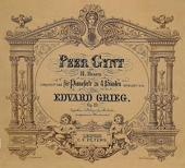 TITLE PAGE OF PEER GYNT. PHOTO BY DEAGOSTINI