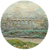 A View of Bougival. A detail