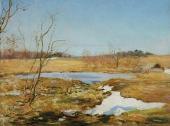 Glades under the Snow. 1911