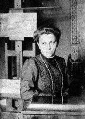 Yevgenia Wulffert. Photo. 1908