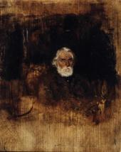 Portrait of Ivan Turgenev. 1883