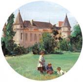 In the Castle Park. 1880. Detail