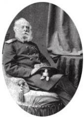 Baron Konstantin von Wulffert. Photo. 1880