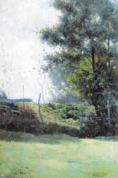 Landscape. Veules. 1890
