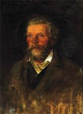 Portrait of Pavel Pokhitonov, the Artist's Father. Late 1860s