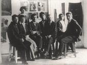 Teachers at the People's School of Arts. Vitebsk. 26 July 1919