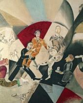 Introduction to the Jewish Theatre. Detail. 1920