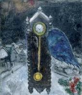 The Clock with Blue Wing. 1949