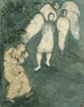 Abraham Kneeling before the Three Angels. 1931
