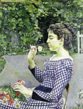 Bildnis Hélène Weiglé. 1888