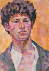 Self-portrait. 1920