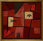 Paul KLEE. Glance Out of Red. 1937