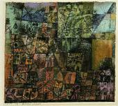 Paul KLEE. City of Tombs. 1914
