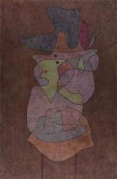 Paul KLEE. Lady Demon. 1935, 115