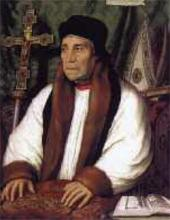 Portrait of William Warham, Archbishop of Cantebury. 1527
