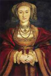 Portrait of Anne of Cleve, wife of King Henry VIII. 1539