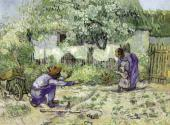 Vincent VAN GOGH. The First Steps (after Millet). 1890