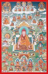 Rime Thangka Series. Nyingma School Longchen Rabjam