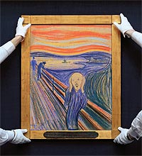 "EDVARD MUNCH ""…THE SUN WAS SETTING"""