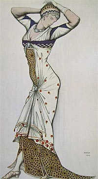 "Leon Bakst: ""Dress up like a flower!"""