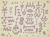 Paul Klee. Carpet of Memory
