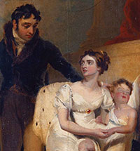 Portrait of the Charlemont family by Thomas Lawrence