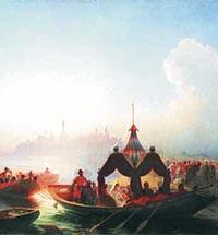 Vasily Khudyakov in the Ulyanovsk Regional Arts Museum